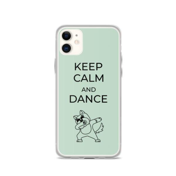 "iPhone Hülle ""Keep Calm and dance"""