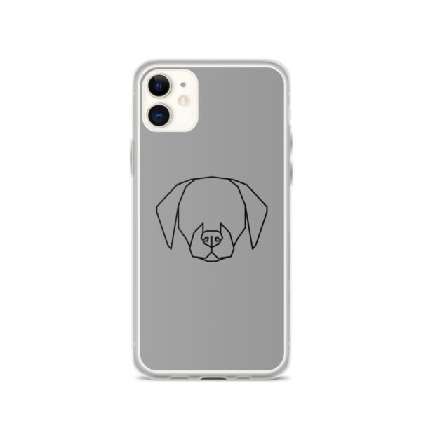 "iPhone Hülle ""Dog contour"""
