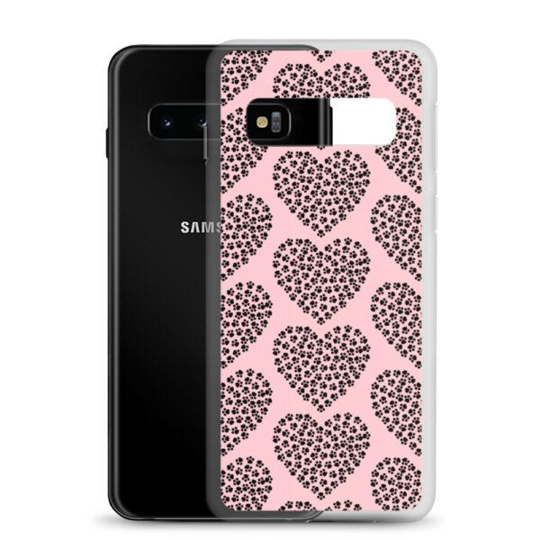 """Samsung Handyhülle """"Pfotenherzen"""""""