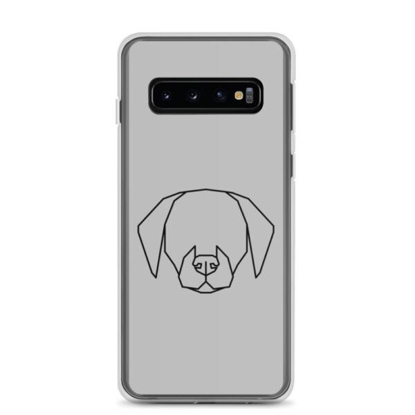 "Samsung Handyhülle ""Dog contour"""