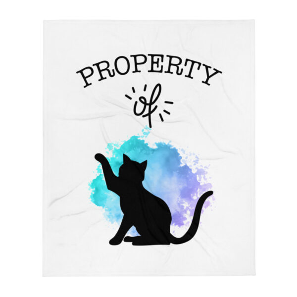 "Decke ""Property of Cat"""
