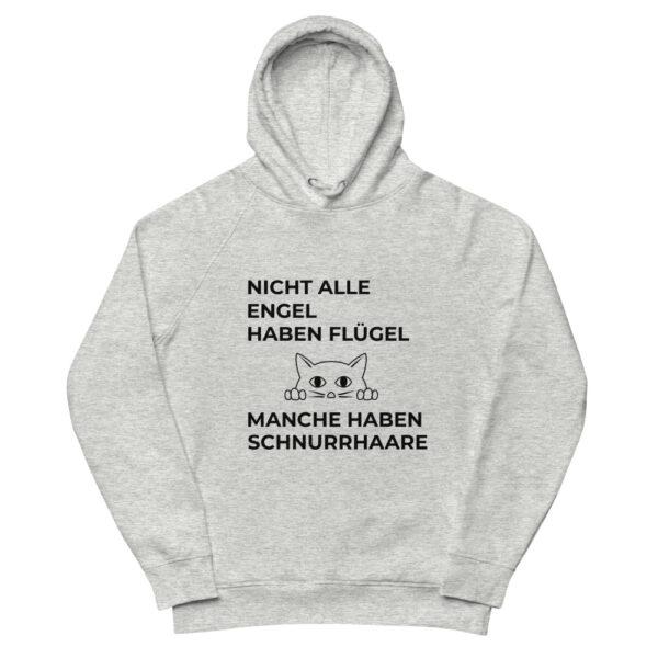 """Unisex Kapuzenpullover """"Nicht alle Engel haben Flügel (…) Pfoten"""""""