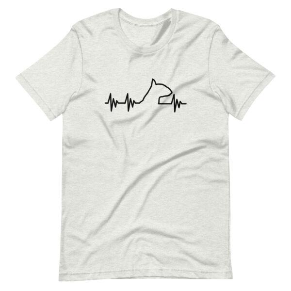 """Unisex-T-Shirt """"Herzschlag Hund"""""""
