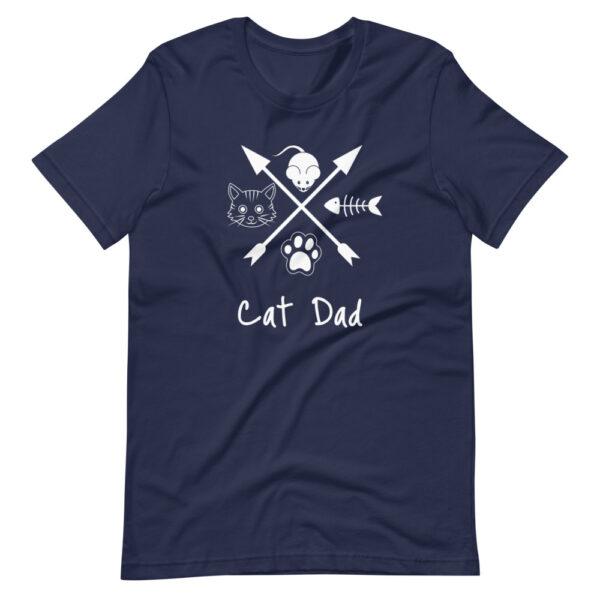 """Unisex-T-Shirt """"Cat dad"""""""