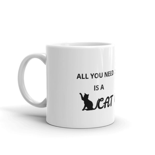 "Tasse ""All you need is a cat"""