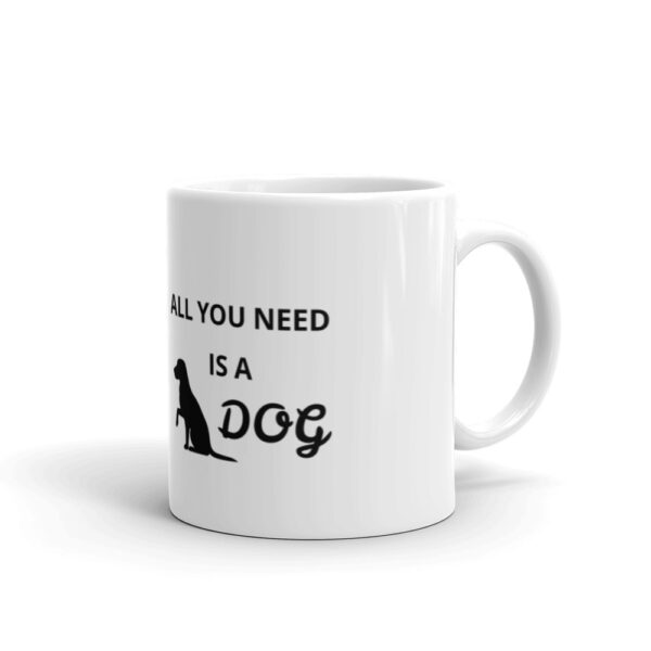 "Tasse ""All you need is a dog"""