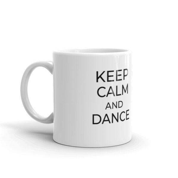 "Tasse ""Keep calm and dance"""